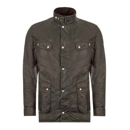 Barbour International Duke Wax Jacket - Sage 21963CP 0