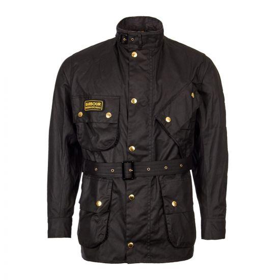 Barbour International Jacket | MWX0004 BK51 Black | Aphrodite1994
