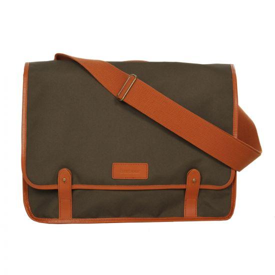 Barbour Kirk Messenger Bag in Olive