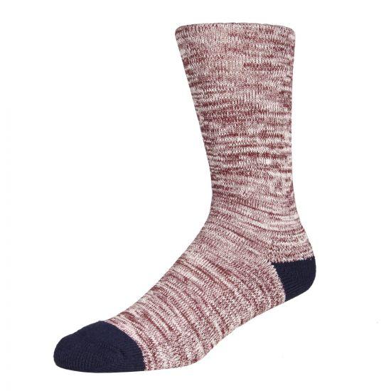 Barbour Socks Bordeaux Kendal MSO0061RE75L