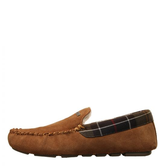 Barbour Monty Slippers MSL0001BE51 Camel