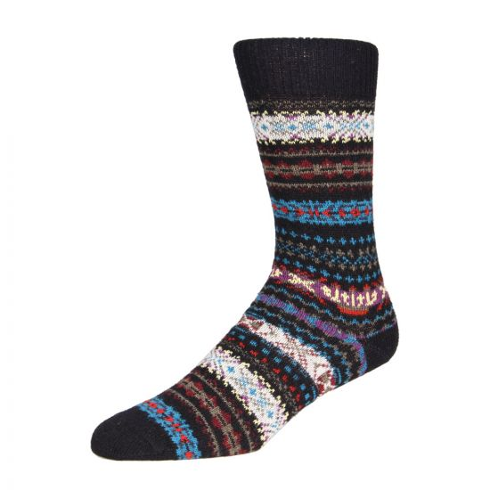 Barbour Socks Navy Boyd MSO0062