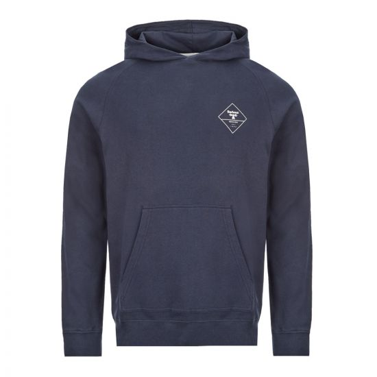 Barbour Hoodie Netherly - Navy  21513CP -1