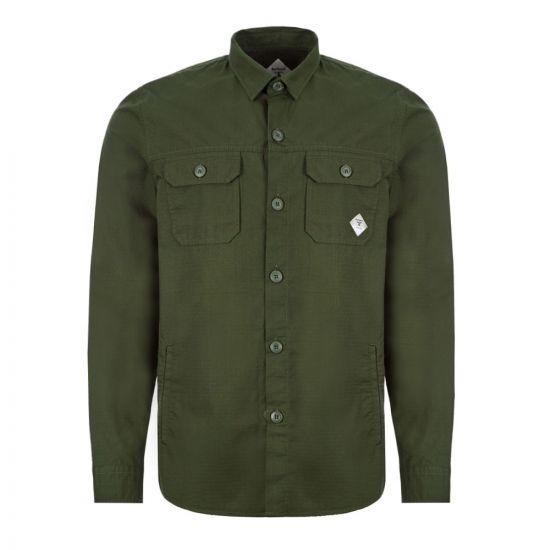 Barbour Beacon Overshirt RIPSTOP - Green 21784CP -1