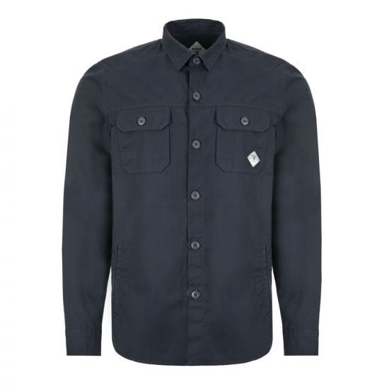 Barbour Beacon Overshirt RIPSTOP - Navy 21785CP -1