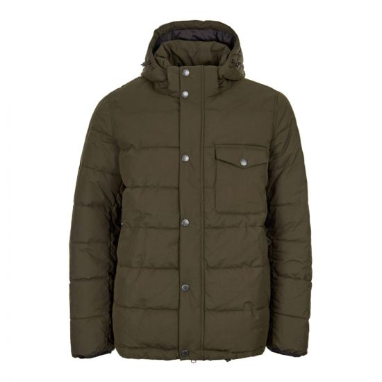 Barbour International Pivot Quilted Jacket MQU0993 SG71 Green