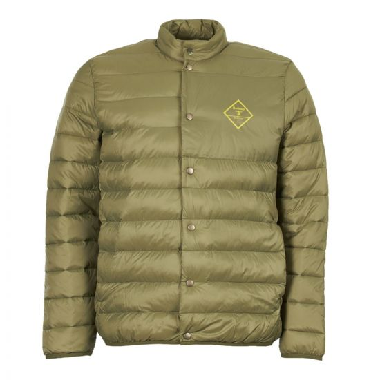 barbour beacon jacket quilted sergeant MQU1075 GN32 green