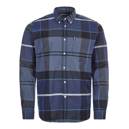 Barbour Shirt Sutherland - Inky Blue  21518CP -1