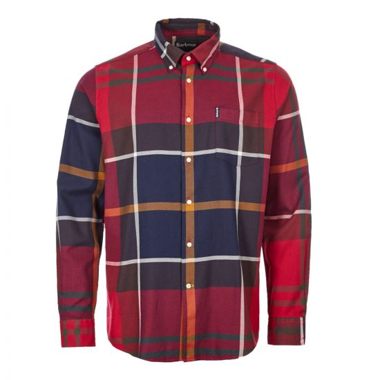 Barbour Dunoon Shirt | MSH4284 RE52 Red