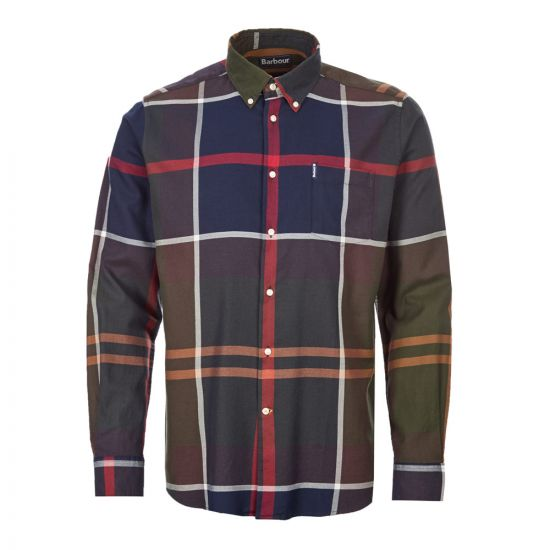 Barbour Dunoon Shirt | MSH4284 TN51 Classic / Navy