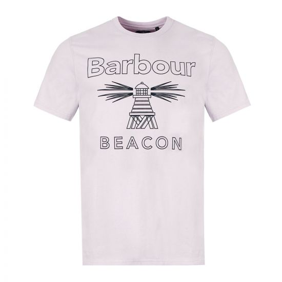 Barbour T-Shirt - Purple 21514CP -1