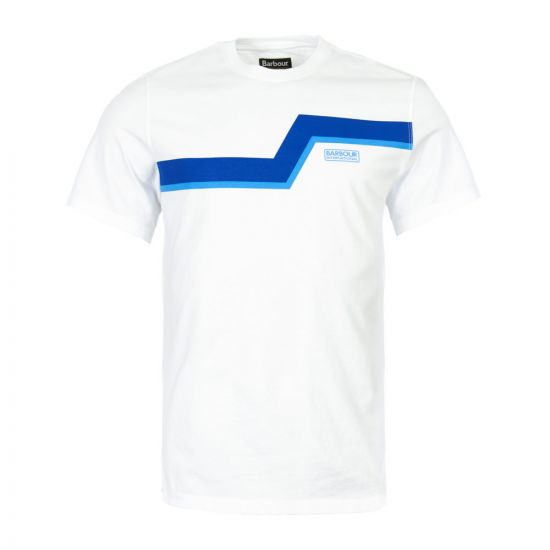 Barbour International T-Shirt | MTS0528 WH11 White