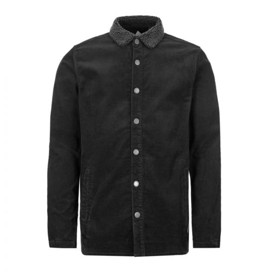 barbour tarn overshirt jacket MOS0071 BK31 black