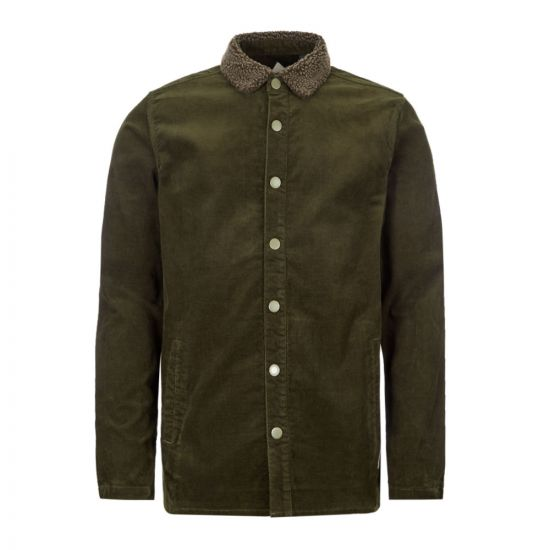 Barbour Beacon Tarn Overshirt Jacket - Forest Green 21039CP -1