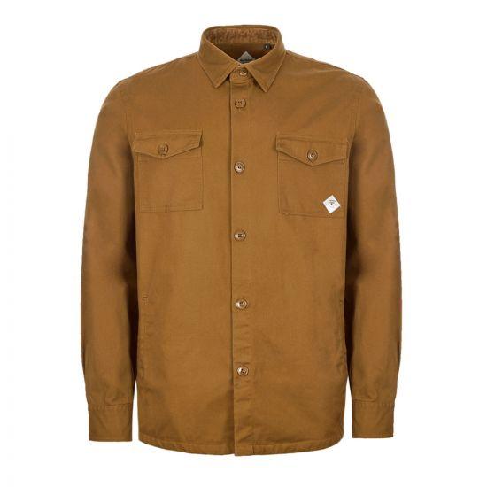 Barbour Beacon Overshirt - Camel 21041CP -1