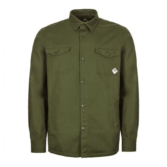 Barbour Beacon Overshirt – Twill Forest Green 21040CP -1