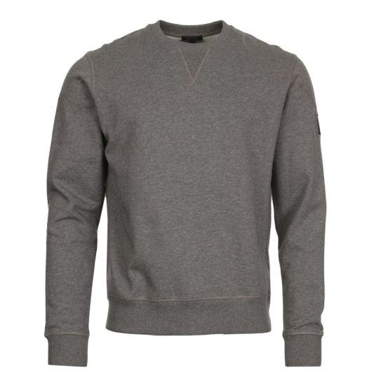 Belstaff Sweatshirt Jefferson | 71130385 J61A0066 90004 Dark Grey Melange
