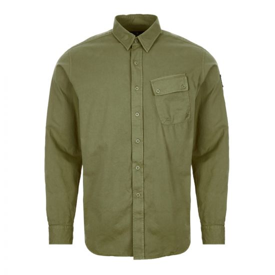 Belstaff Shirt – Sage Green 21379CP -1