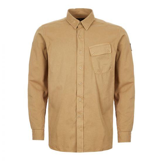 Belstaff Shirt – Dark Mustard 21378CP -1