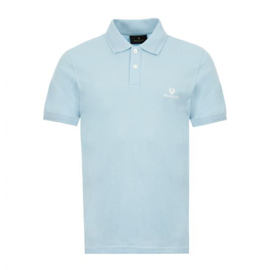 Belstaff Polo Shirt - Sky Blue 21621CP -1