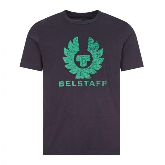 belstaff t-shirt coteland 2.0 71140318 J61N0103 80092 dark ink