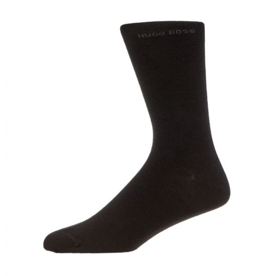 BOSS Socks 2 Pack - Black 21077CP -1
