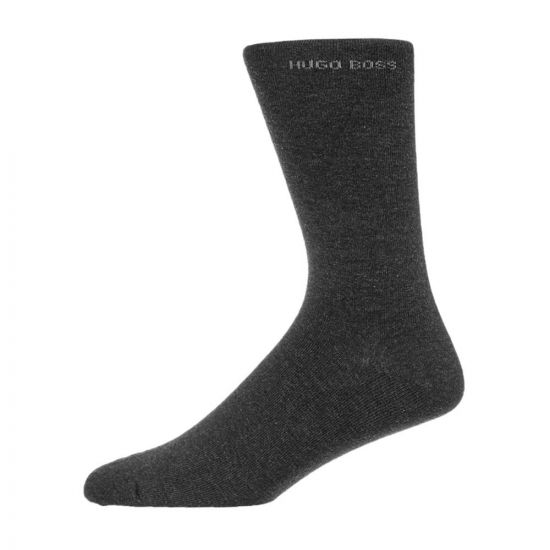 BOSS Socks 2 Pack - Grey 21078CP -1
