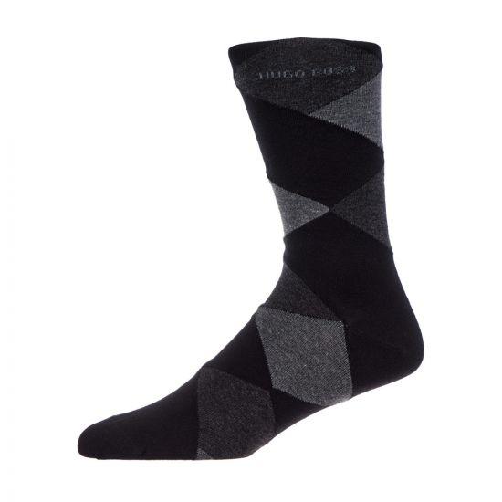 BOSS Socks 2 Pack 50414710 001 Black / Grey