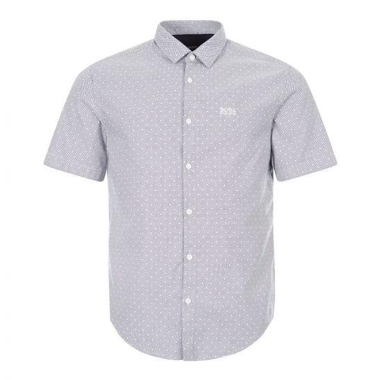 boss athleisure short sleeve shirt brodi s 50431845 411 navy