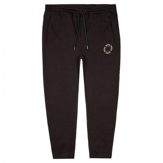 BOSS Athleisure Joggers | 50423599 012 Halboa Black / Gold