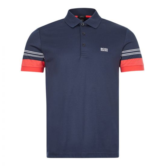 boss athleisure polo shirt paule 1 50424197 410 navy
