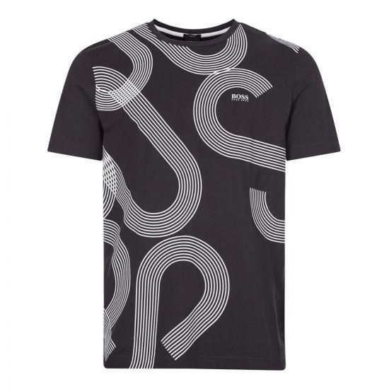 boss athleisure t-shirt 7 50427829 001 black