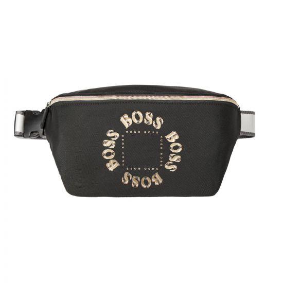 BOSS Bodywear Pixel Bumbag - Black  21761CP -1