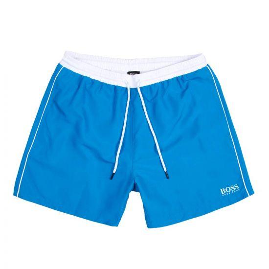 Boss Swim Shorts 50408104 441 In Starfish Aqua