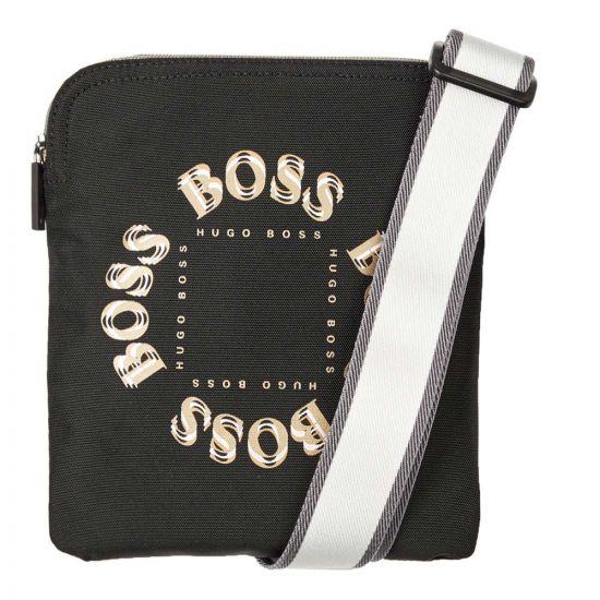 BOSS Bodywear Cross Body Bag Pixel - Black 21762CP -2