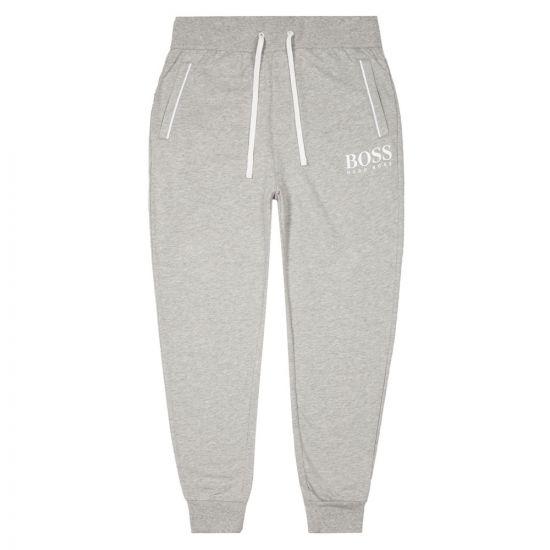 boss bodywear joggers authentic 50431098 054 grey