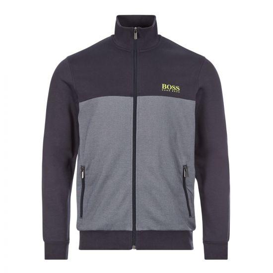 BOSS Bodywear Track Top   50431087 400 Navy