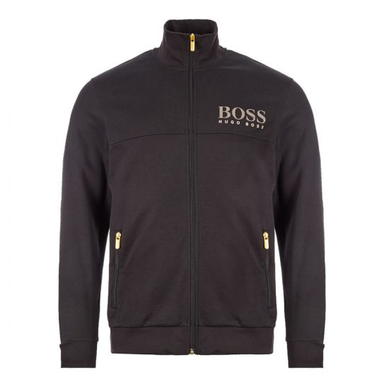 Boss Bodywear Tracksuit Jacket | 50420366|001 Black | Aphrodite Clothing