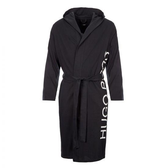 BOSS Bodywear Dressing Gown   50414828 001 Black / White