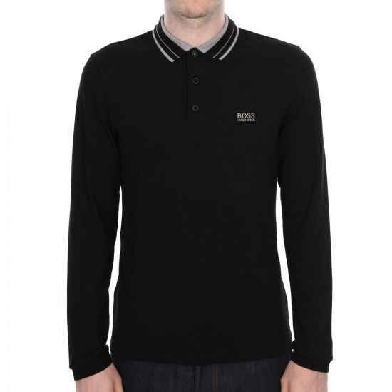 Hugo Boss Pleesy Polo - Black