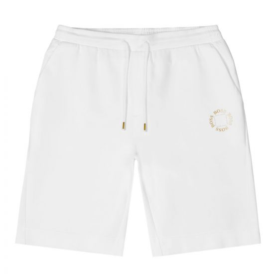 BOSS Athleisure Shorts Halboa - White 21665CP -1
