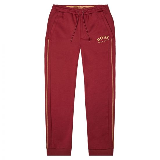 BOSS Athleisure Sweatpants Hadiko 50418726 653 Dark Pink