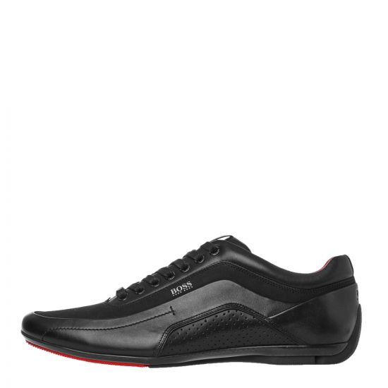 BOSS HB Racing Trainers - Black 21059CP -1