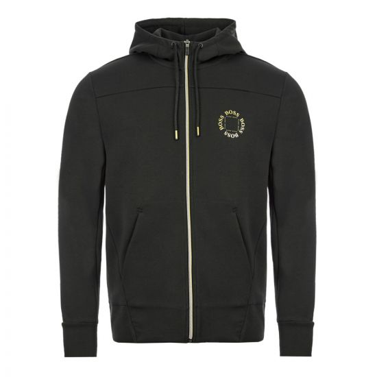 BOSS Athleisure Hoodie Saggy Circle - Charcoal 21661CP -1