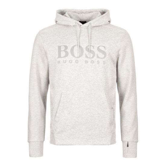 boss athleisure hoodie soody 50403978 057 grey