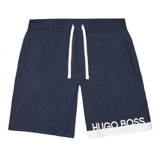 BOSS Bodywear Shorts Identity - Navy 21644CP -1