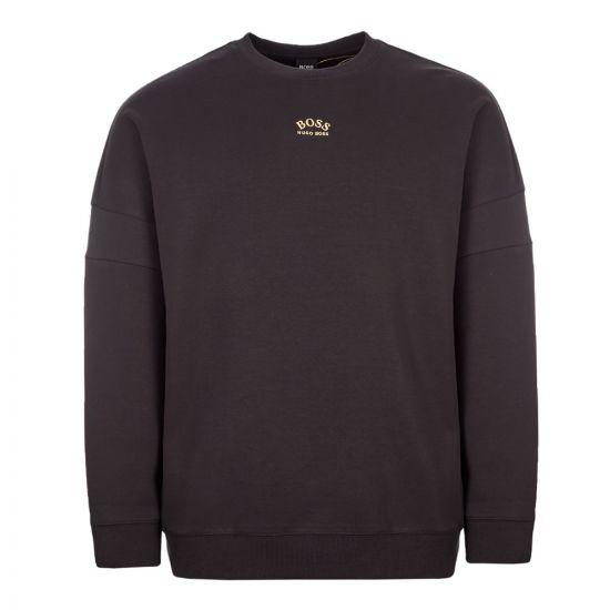 BOSS Athleisure Sweatshirt | 50413129 006 Black / Gold