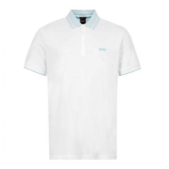 BOSS Athleisure Polo Shirt Paddy 1 - White 21662CP -1