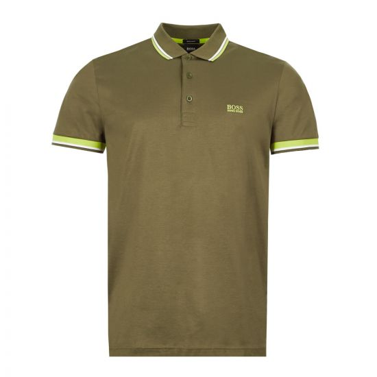 BOSS Athleisure Polo Shirt Paddy 1 - Green 21670CP -1
