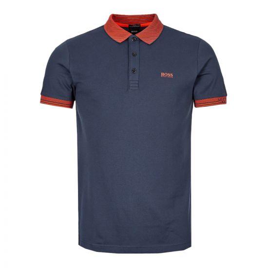 Athleisure Polo Shirt – Navy